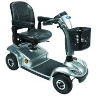Scooter Leo® - Scooter 4 roues gris lunaire