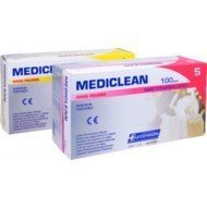 Gants latex MEDICLEAN - Taille 6/7 small